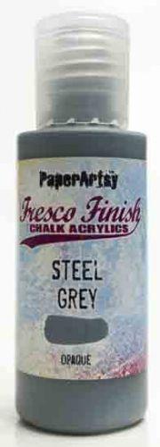 Steel Grey (Seth Apter) Fresco Finish PaperArtsy Paint