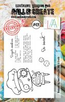 Sugar Cookies No. 421 Aall and Create A7 sized stamp by Janet Klein (AAL00421)