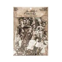 Idea-Ology Paper Dolls Die-Cuts 107 pack - Vintage Black and White