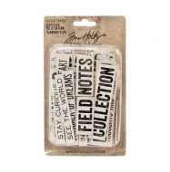 Idea-Ology Chipboard Quote Chips 58 pack - Word and Phrases