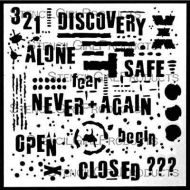 Text and Texture Discovery by Seth Apter for StencilGirl