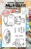 The Captain No. 425 Aall and Create A7 sized stamp by Janet Klein (AAL00425)