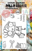 The Crafter Aall and Create A7 Stamp Janet Klein 378 (AAL00378)