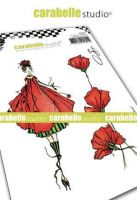 The fairy Coquelicot Cling Stamp A6 for Carabelle Studio by Soizic (sa60515)