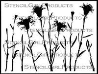 Thistle Stencil designed by Cecilia Swatton for Stencil Girl (9 inch by 12 inch)