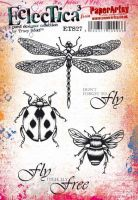 Tracy Scott ETS27 PaperArtsy A5 Cling stamp set