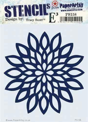 Tracy Scott PS158 PaperArtsy regular stencil