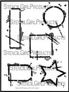 Urban Outsiders 9 inch by 12 inch Stencil (L324) by Seth Apter for StencilGirl