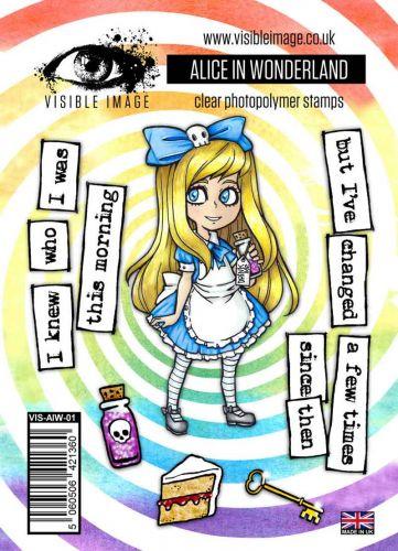 Alice in Wonderland Stamp Set