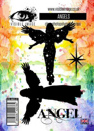 Angels stamp set