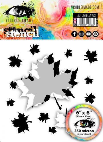 Autumn Leaves Stencil Visible Image 2020 (VISAUL03)