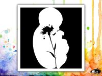 Baby Bloom Visible Image Stencil
