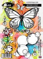 Butterfly Effect Stamp A5 Set (VIS-BEF-01) by Visible Image