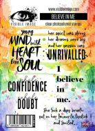 Believe in Me stamp set by Visible Image (VIS-BIM-01)
