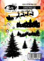 Christmas Eve Visible Image A6 stamp set (VIS-CEV-01)