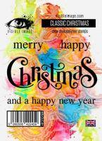 Classic Christmas Visible Image (10cm x 7cm) stamp (VIS-CLC-01)