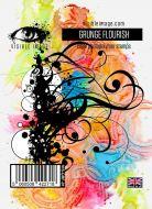 Grunge Flourish Stamp (VIS-GRF-01) by Visible Image