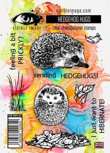 Hedgehog Hugs Stamp Set (VIS-HEH-01) by Visible Image