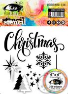 Iconic Christmas Stencil by Visiible Image (VIS-ICS-03)