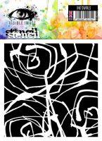 Ink Swirls Stencil Visible Image