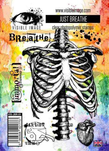 Just Breathe stamp set by Visible Image (VIS-JBR-01)