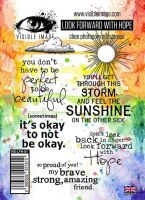 Look Forward With Hope stamp set by Visible Image (VIS-LFH-01)