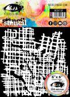Mesh It Up Stencil Visible Image 2020 (VISMIU03)