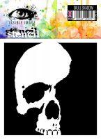 Skull Shadow stencil