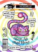 The Cheshire Cat Stamp Set