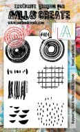 Visual Ingredients (No. 404) A6 sized stamp by Janet Klein for Aall and Create (AAL00404)
