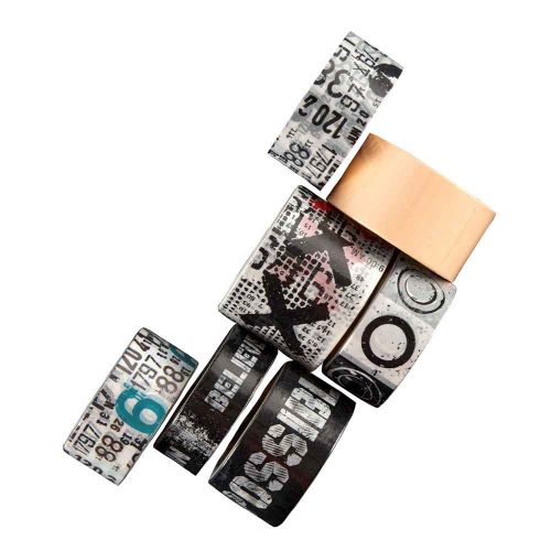 Washi Tape Collection No. 1 - Aall and Create (7 Rolls)