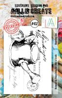 Watering Can (No. 437) A7 sized stamp by Tracy Evans for Aall and Create (AAL00437)