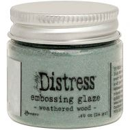 Weathered Wood Tim Holtz Distress Embossing Glaze TDE71051
