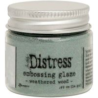 Weathered Wood Tim Holtz Distress Embossing Glaze TDE71051