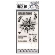 Wendy Vecchi Make mp Die Stencil Set - A Million Thanks