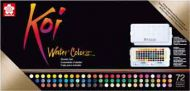 Sakura Koi watercolours Sketchbox 72 colours (UK ONLY - 1 max per customer) (XNCW72N)