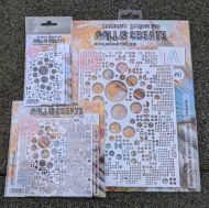 Aall the Dotz (stencil 39 & 87 and stamp 313)