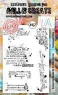 Background Voices by Bipasha BK Aall and Create A6 stamp (AAL00457)