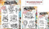 Bipasha BK February 2021 3 Stamp Bundle - 448 (A4), 450 (A5), 457 (A6)