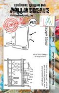 Happy Hour by Janet Klein Aall and Create A7 stamp (AAL00476)