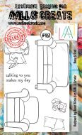 Have A Seat by Janet Klein Aall and Create A6 stamp (AAL00461)