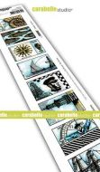 Carabelle Studio - Cling Stamp Edge - 8 labels - The Sea (SED0033)