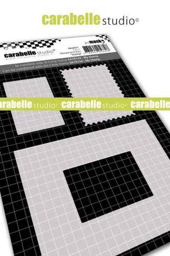 Carabelle Studio - Mask A6 - Stamp (MA60077)