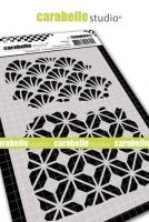 Carabelle Studio - Stencil A6 - Textures no. 3 - 2 Background Textures (TE60090)