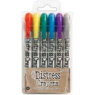 Tim Holtz Distress Crayon Set Number 4