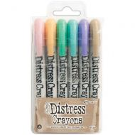 Tim Holtz Distress Crayon Set Number 5