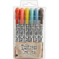 Tim Holtz Distress Crayon Set Number 7