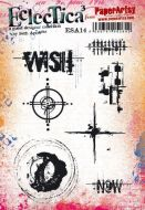 Seth Apter ESA14 Paperartsy a5 cling rubber stamp set