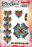 Tracy Scott (ETS36) PaperArtsy A5 cling rubber stamp set