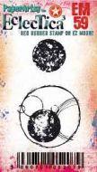 Eclectica mini 59 Tracy Scott Paperartsy stamp